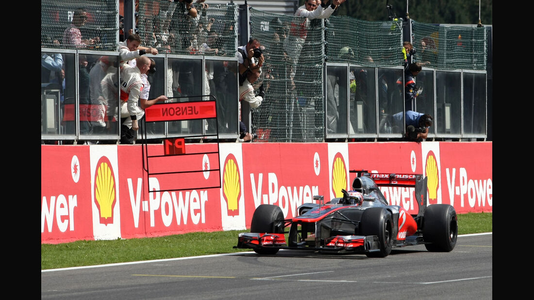 Jenson Button - GP Belgien 2012