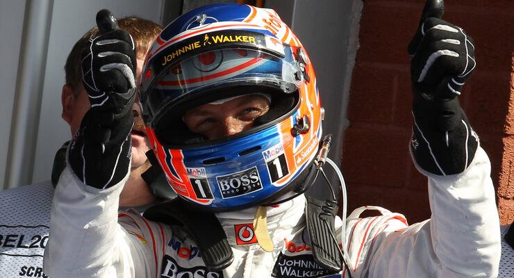 Jenson Button GP Belgien 2012