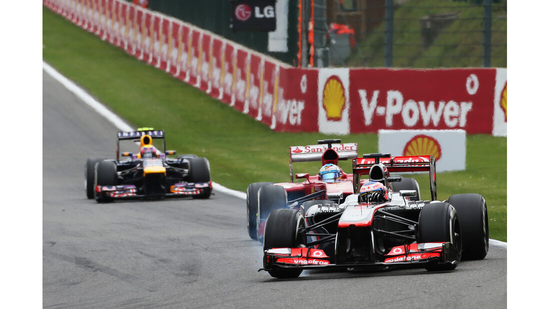Jenson Button - GP Belgien 2013
