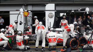 Jenson Button GP Belgien 2013