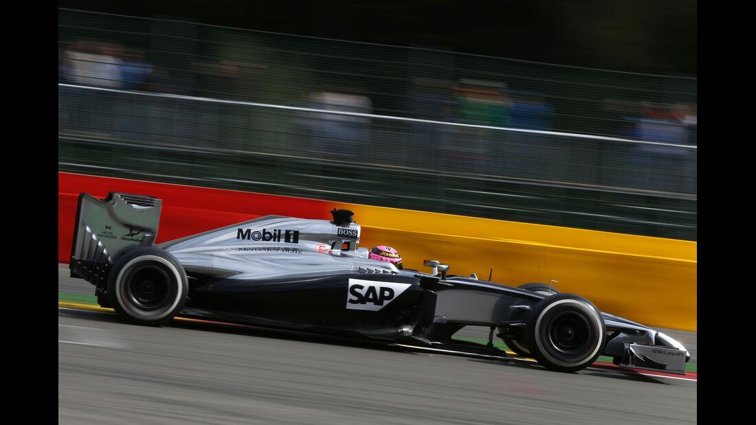 Jenson Button - GP Belgien 2014