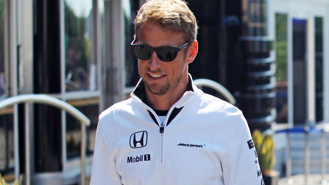 Jenson Button - GP Belgien 2015