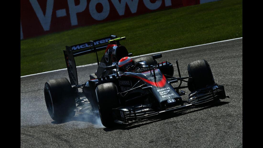 Jenson Button - GP Belgien 2015