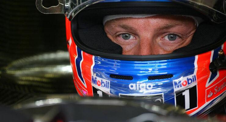 Jenson Button - GP Belgien - 26. August 2011