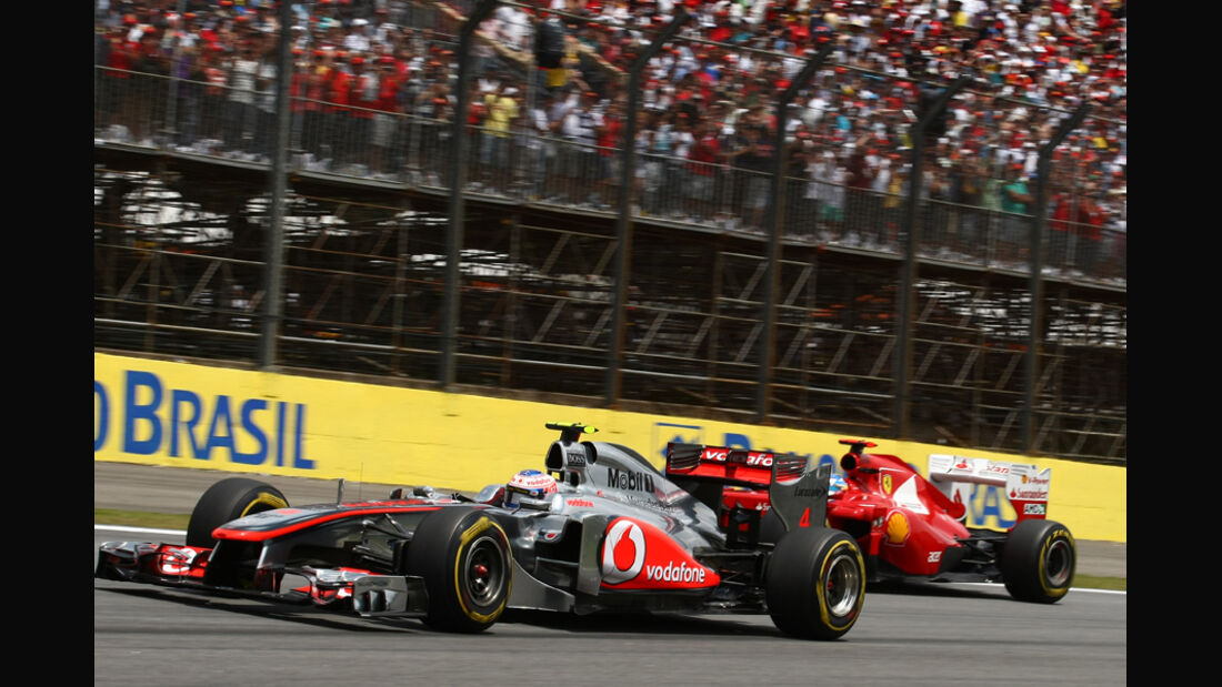 Jenson Button GP Brasilien 2011
