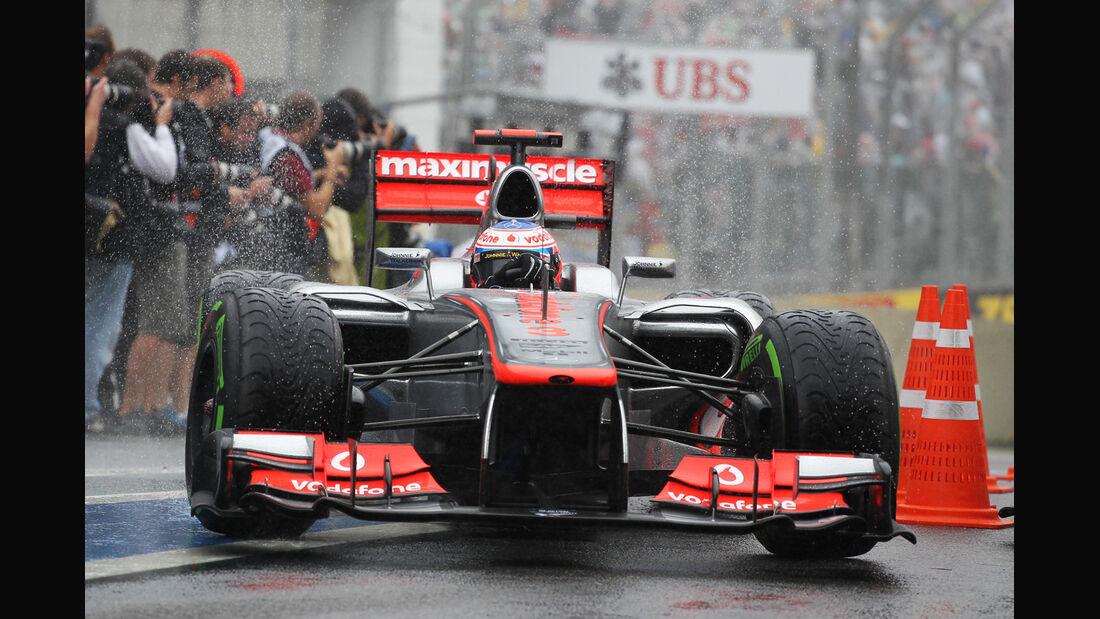 Jenson Button GP Brasilien 2012