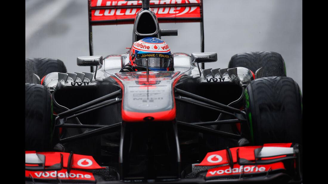 Jenson Button - GP Brasilien 2013