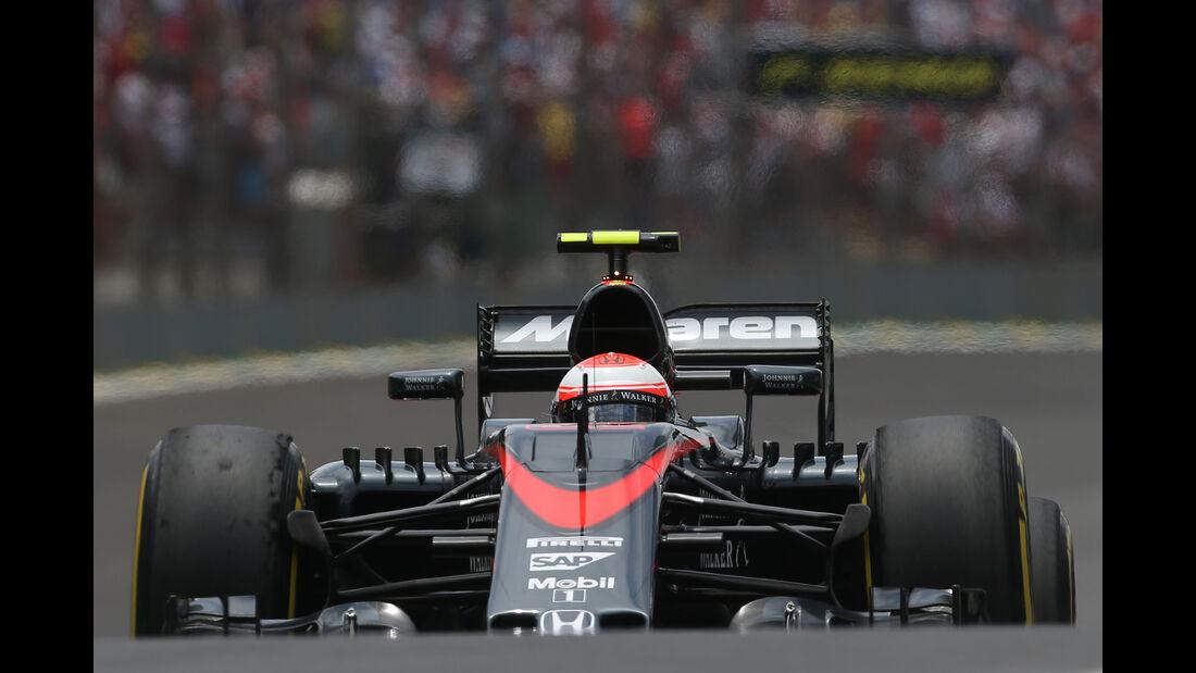 Jenson Button - GP Brasilien 2015