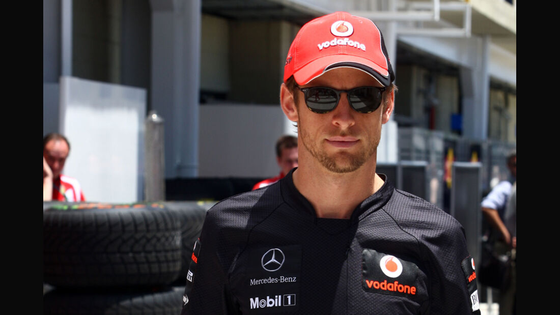 Jenson Button - GP Brasilien - 24. November 2011