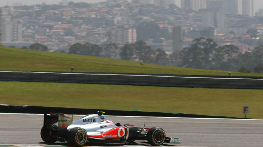 Jenson Button - GP Brasilien - 25. November 2011