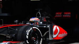 Jenson Button GP China 2013