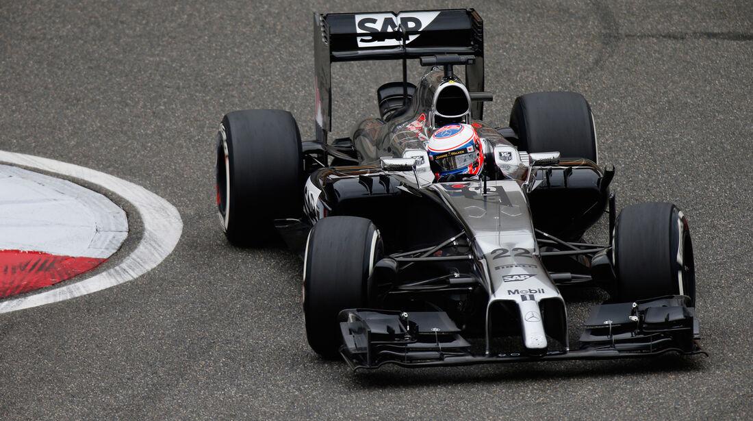 Jenson Button - GP China 2014