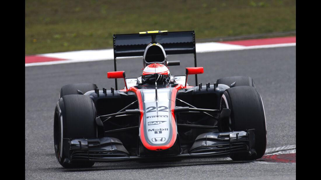 Jenson Button - GP China 2015