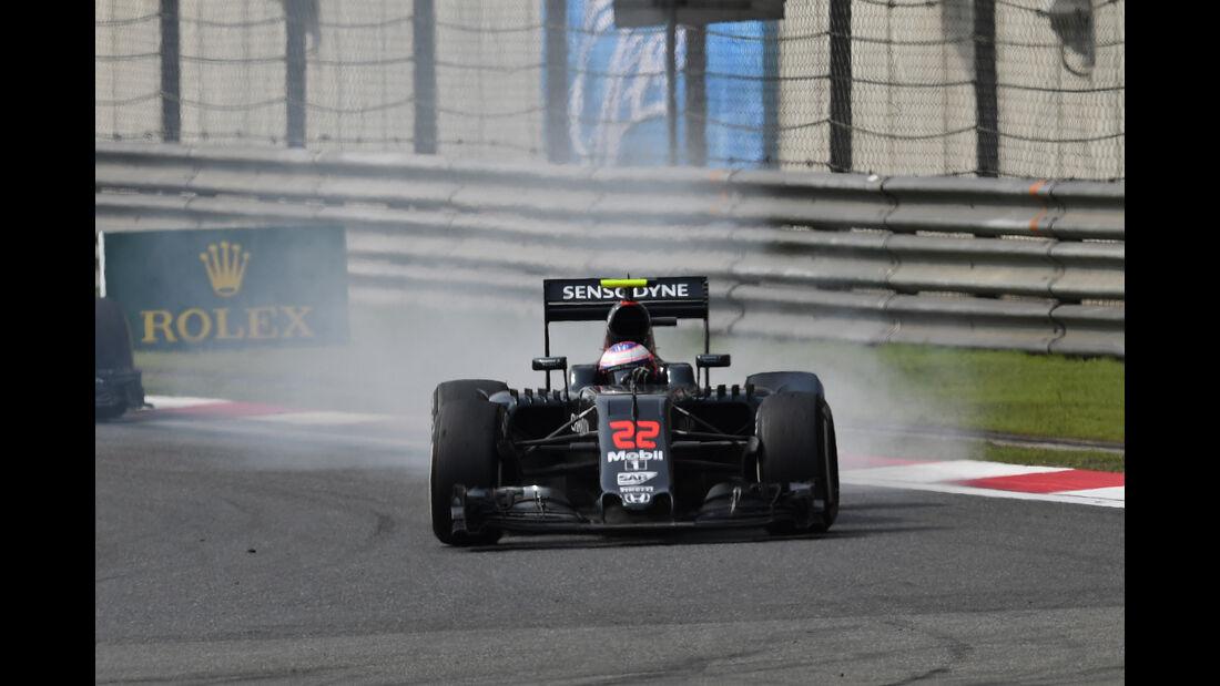 Jenson Button - GP China 2016