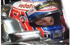 Jenson Button - GP Deutschland - Nürburgring - 22. Juli 2011