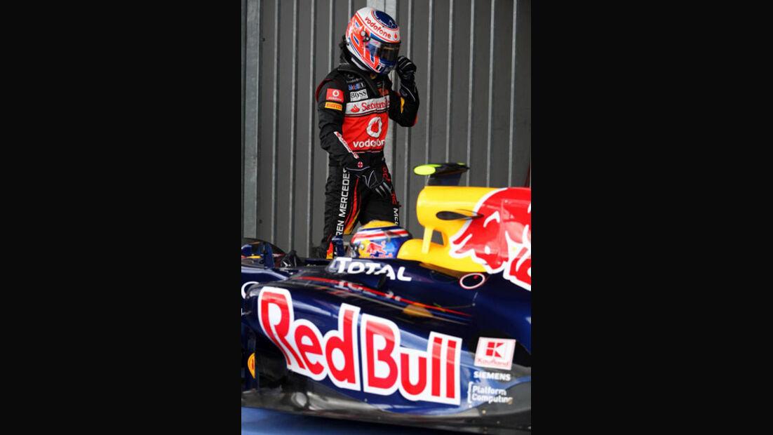 Jenson Button - GP Deutschland - Nürburgring - 23. Juli 2011