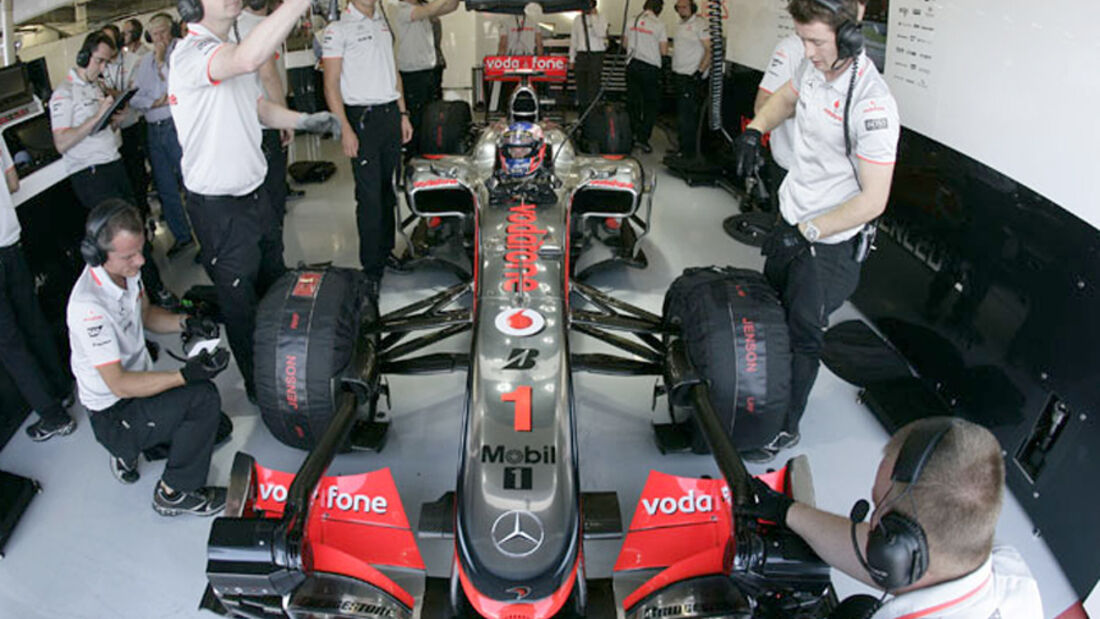 Jenson Button - GP England 2010