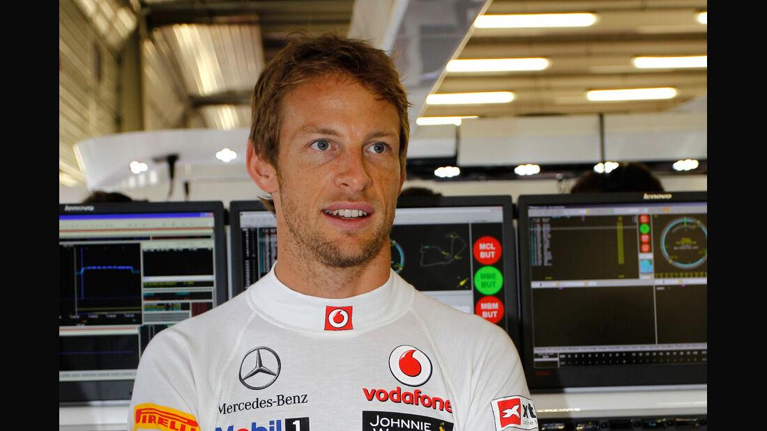 Jenson Button GP England 2012