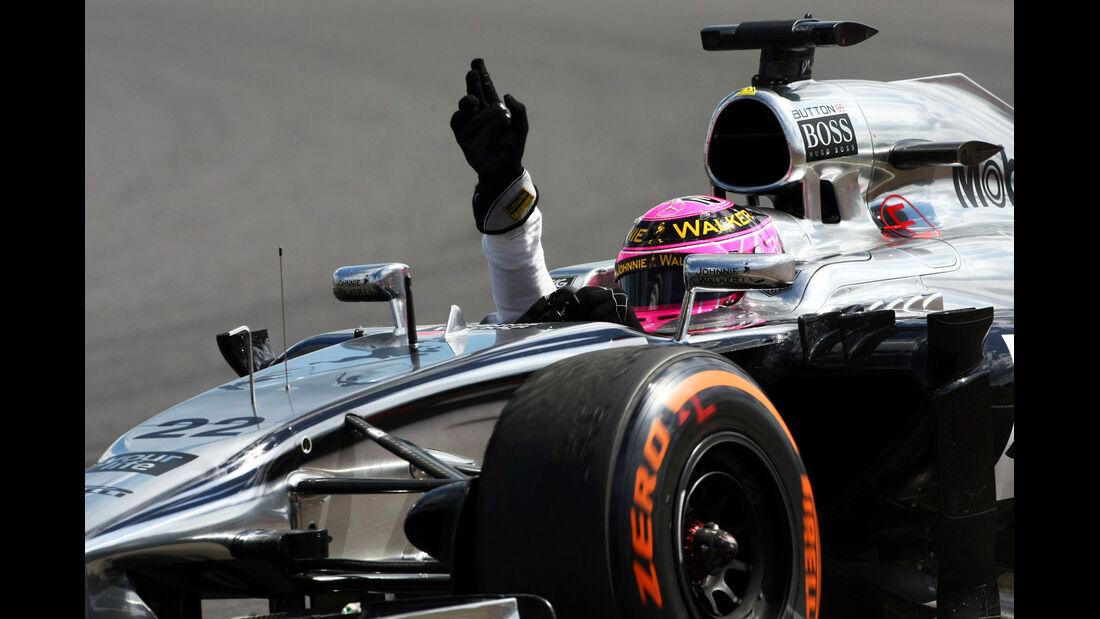Jenson Button - GP England 2014