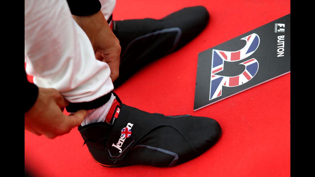 Jenson Button - GP England 2015