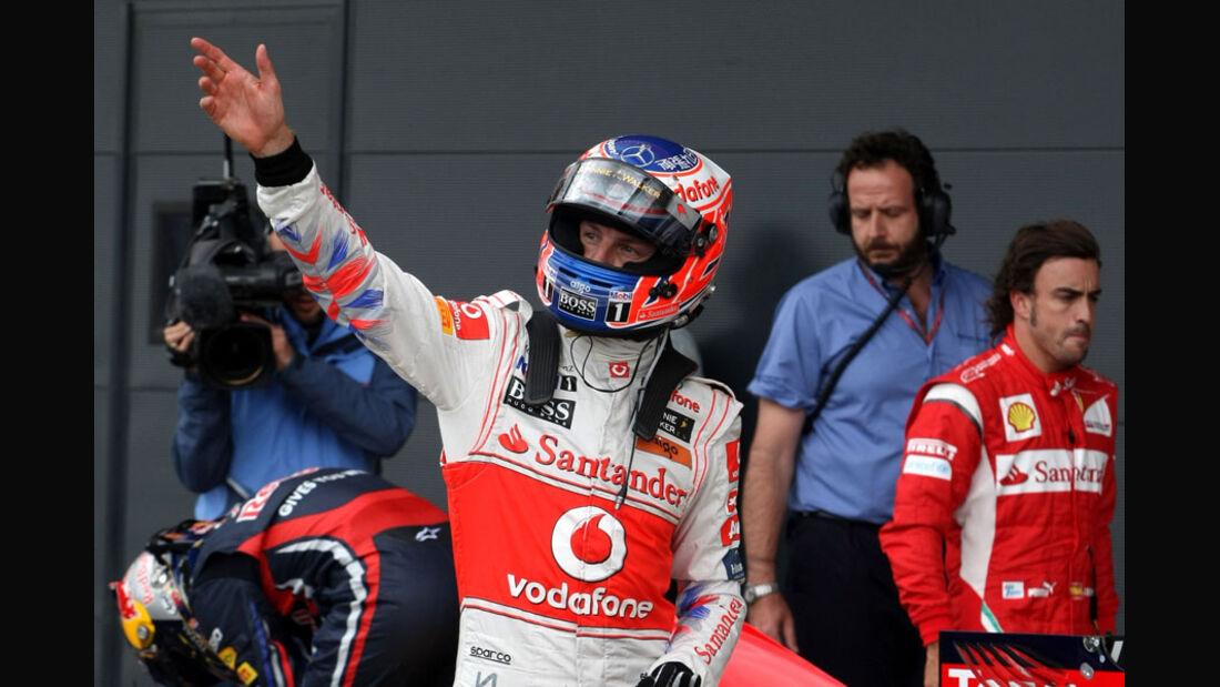 Jenson Button - GP England - Qualifying - 9. Juli 2011