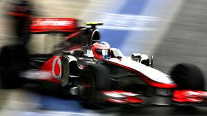Jenson Button - GP England - Qualifying - 9. Juli 2011