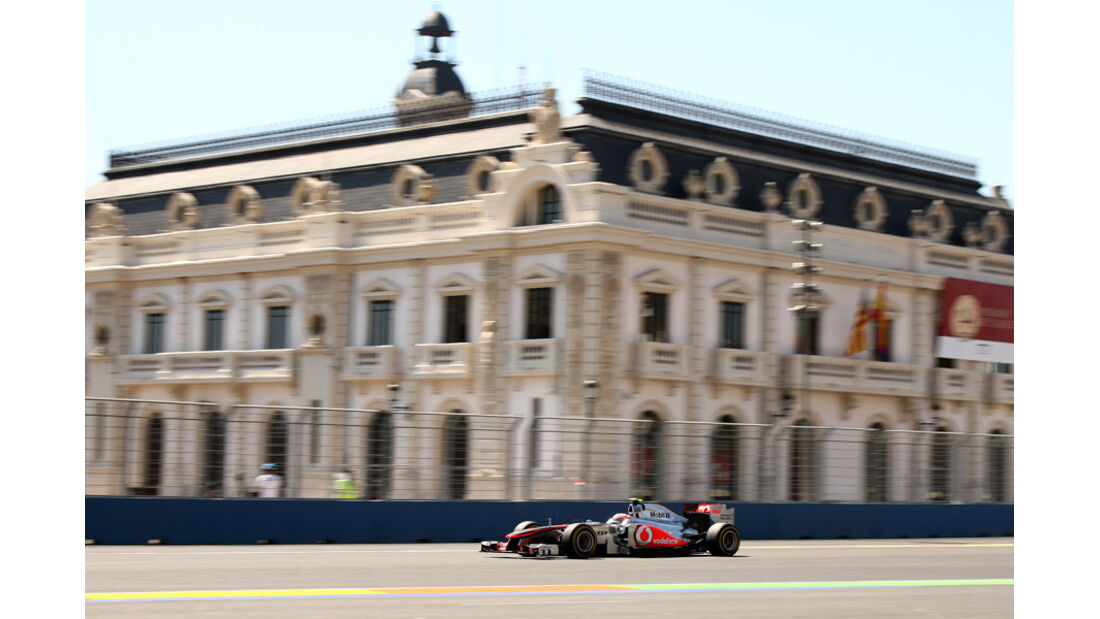 Jenson Button - GP Europa - Qualifying - 25. Juni 2011