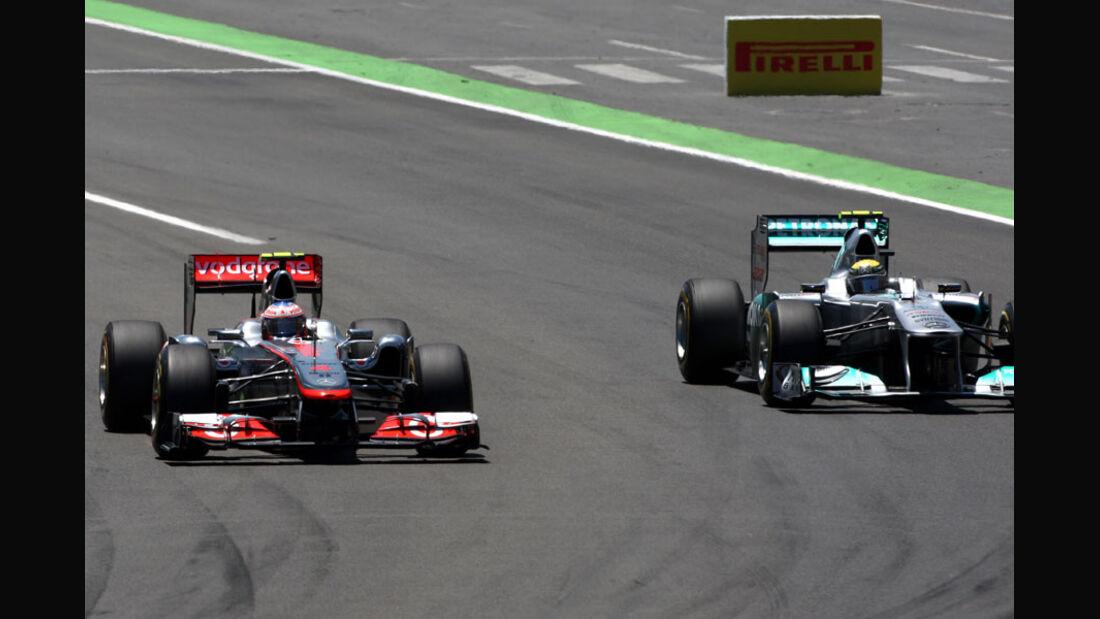 Jenson Button GP Europa Valencia 2011
