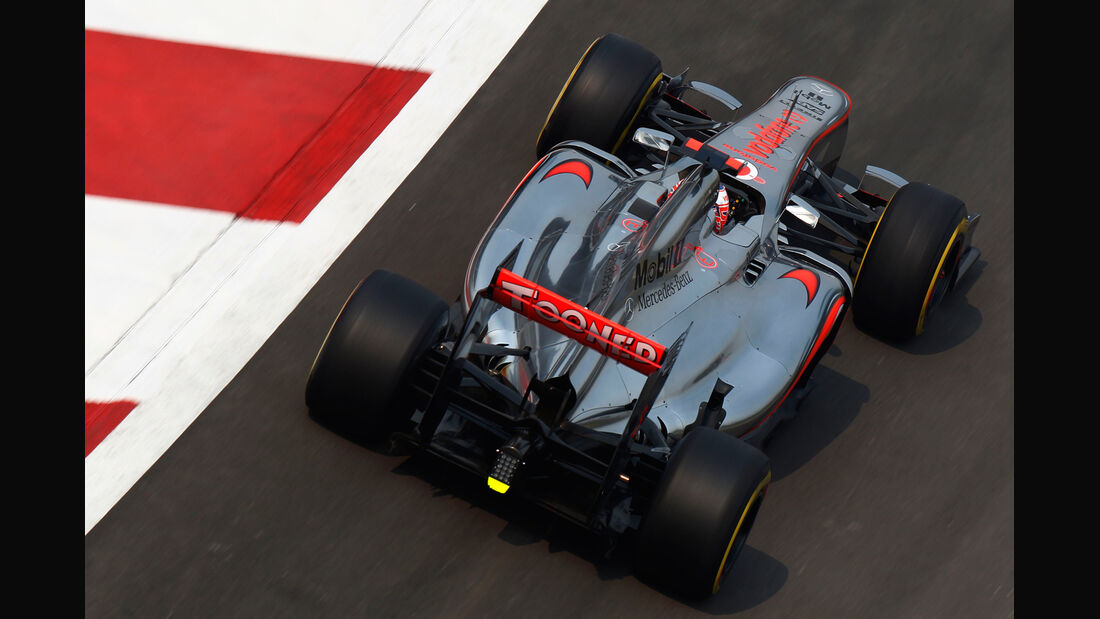 Jenson Button GP Indien 2012