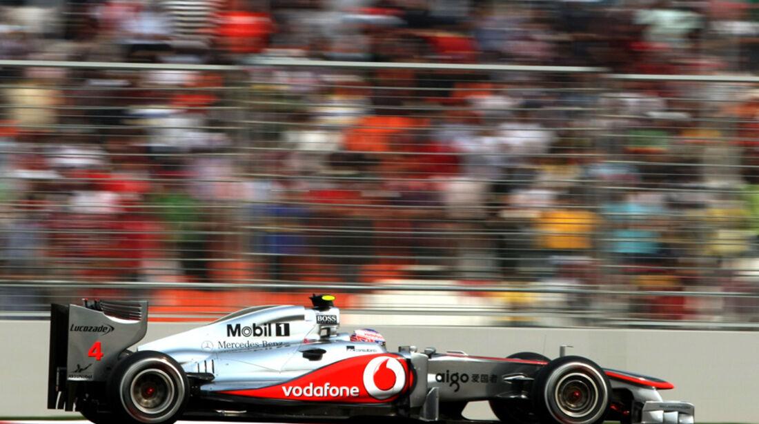 Jenson Button - GP Indien - Delhi - 29.10.2011