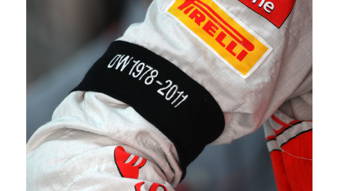 Jenson Button - GP Indien - Training - 28.10.2011