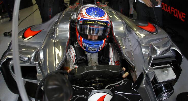 Jenson Button GP Italien 2012