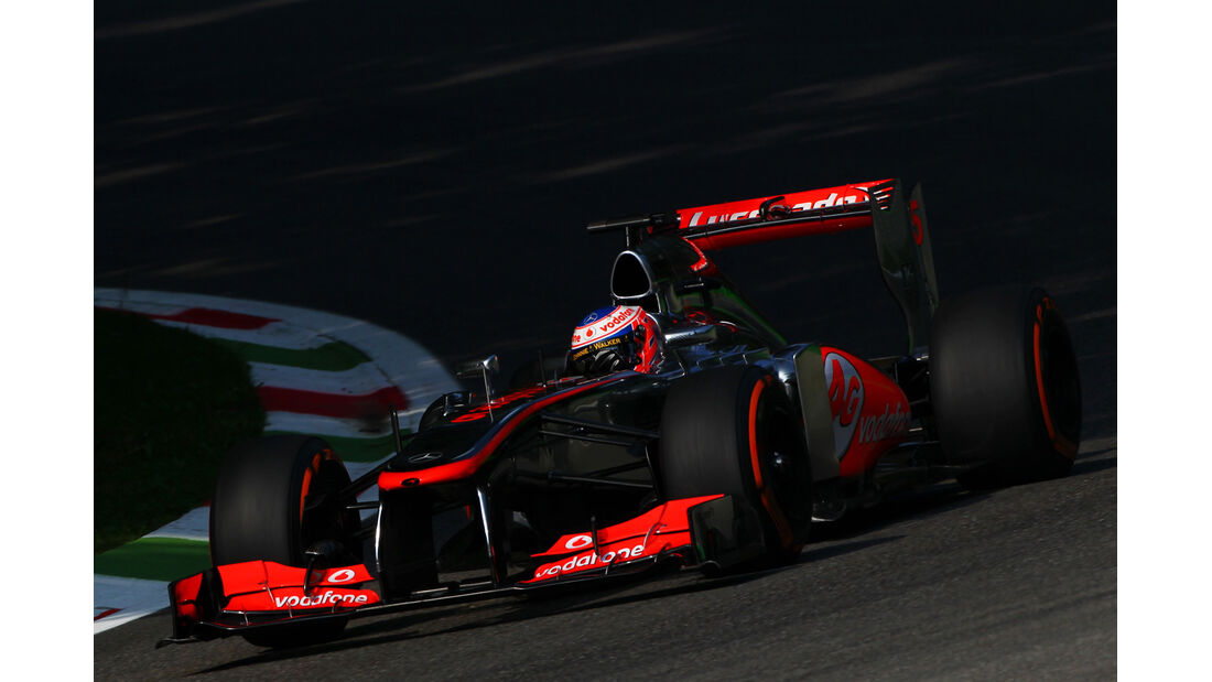 Jenson Button GP Italien 2013