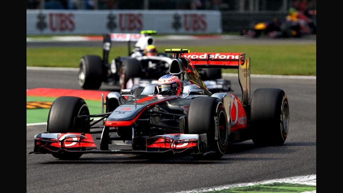 Jenson Button - GP Italien - Monza - 10. September 2011