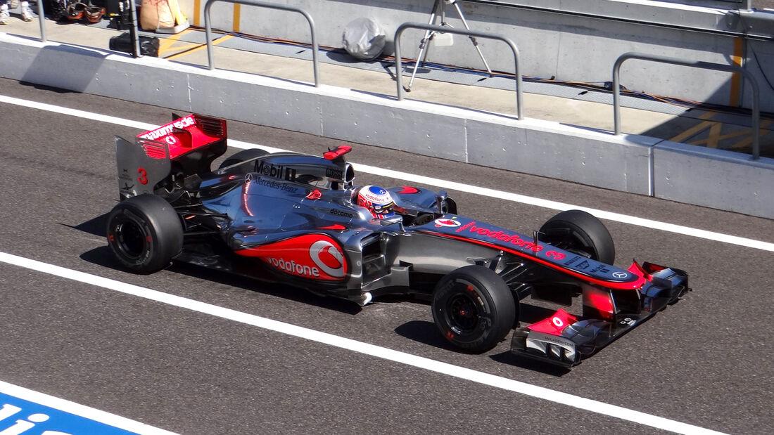 Jenson Button GP Japan 2012