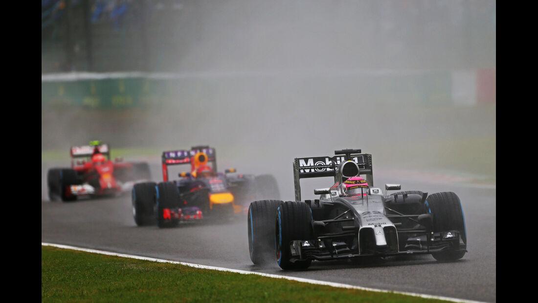 Jenson Button - GP Japan 2014