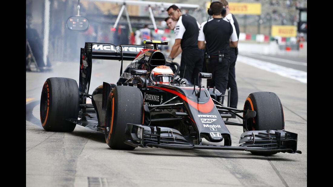 Jenson Button - GP Japan 2015