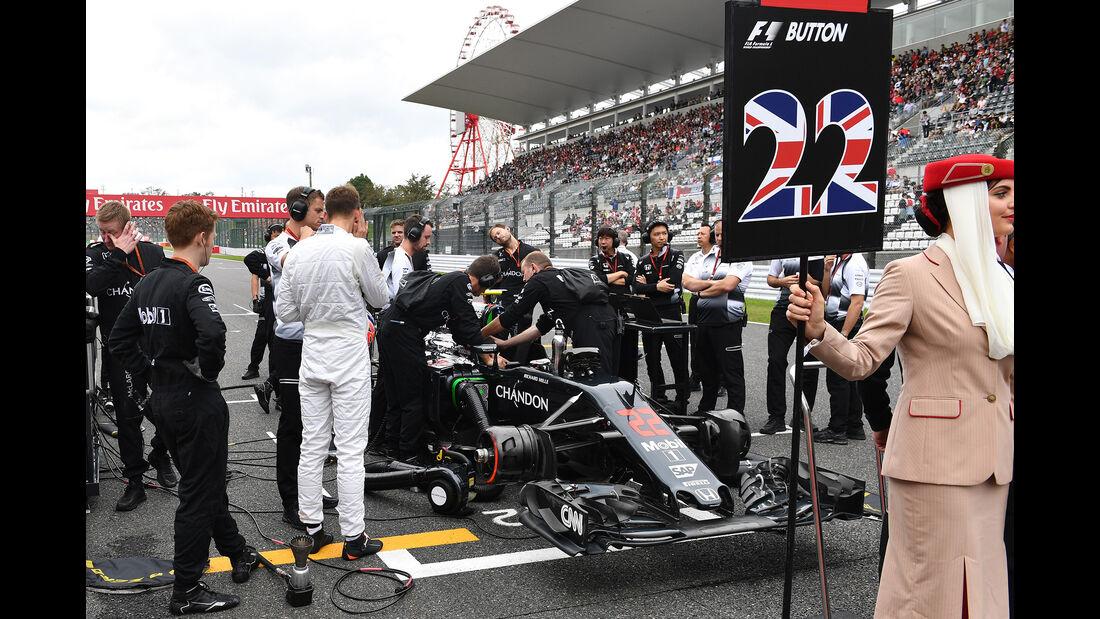 Jenson Button - GP Japan 2016
