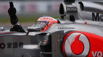 Jenson Button GP Kanada 2011 Rennen