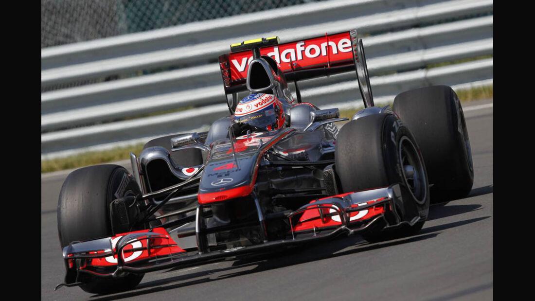 Jenson Button - GP Kanada 2011
