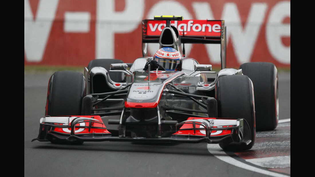 Jenson Button GP Kanada 2011