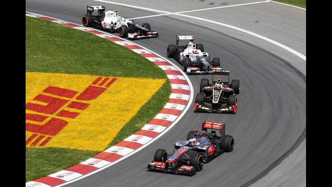 Jenson Button GP Kanada 2012