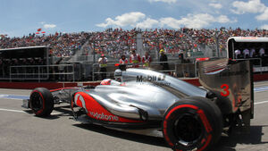 Jenson Button GP Kanada 2012