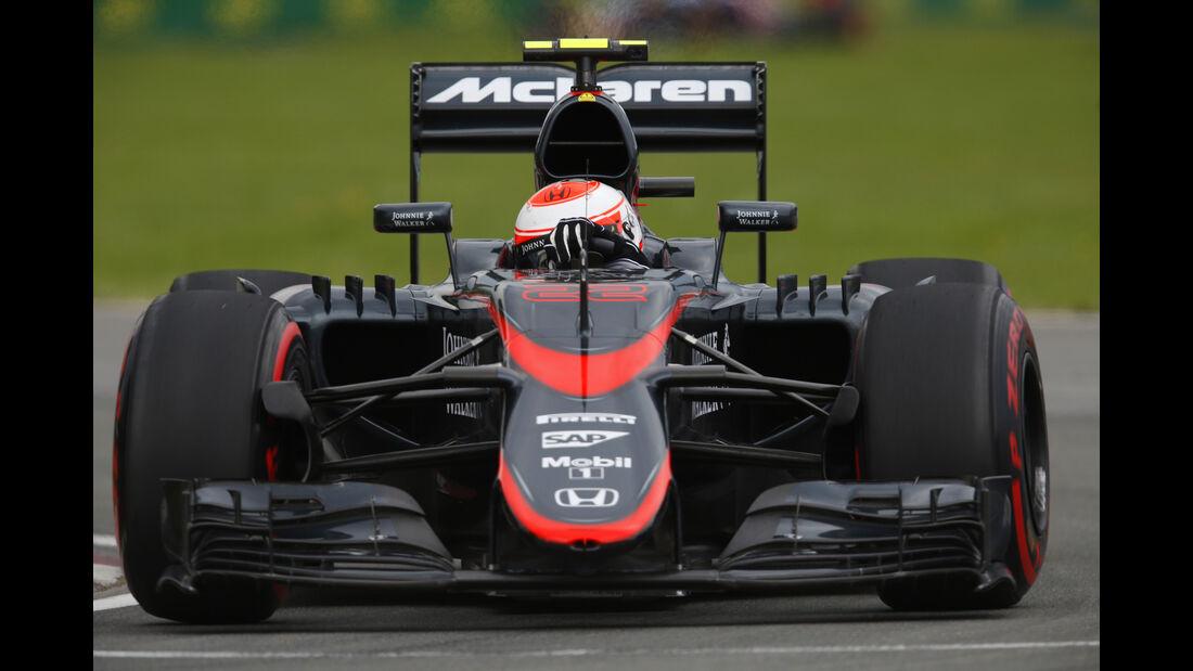 Jenson Button - GP Kanada 2015