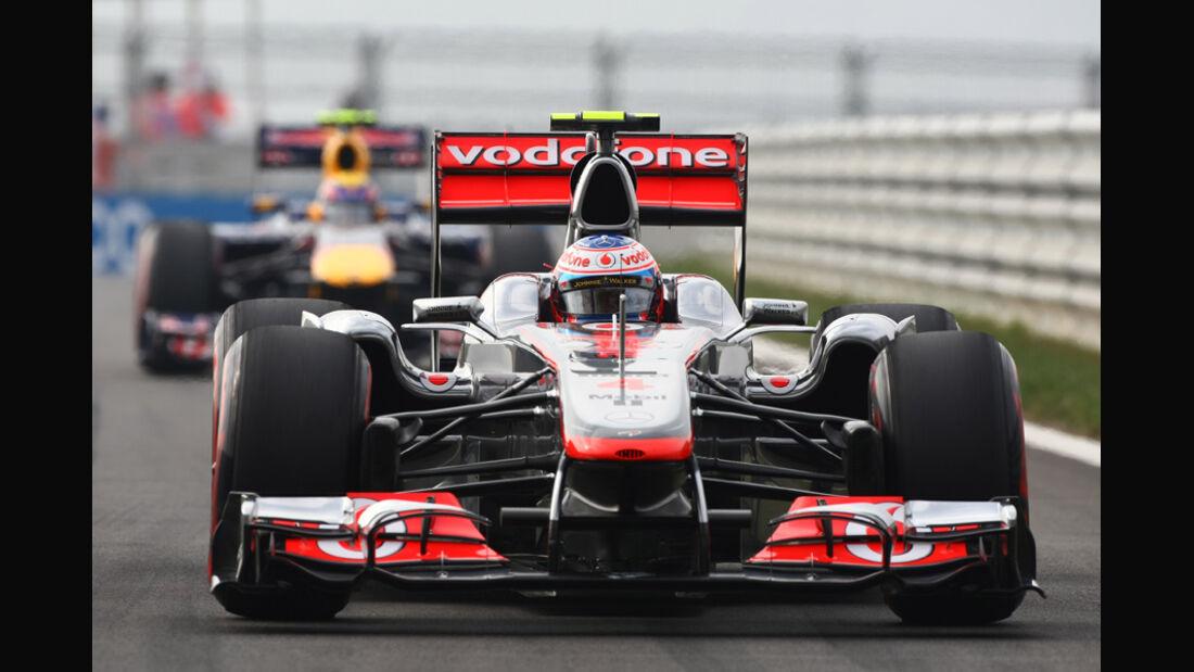 Jenson Button GP Korea 2011