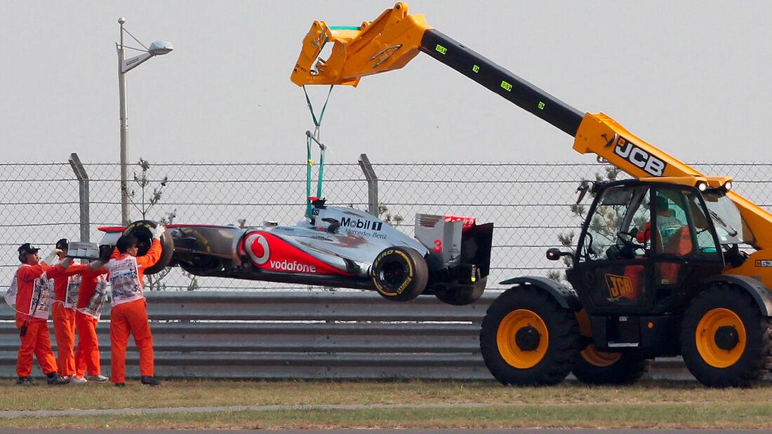 Jenson Button GP Korea 2012