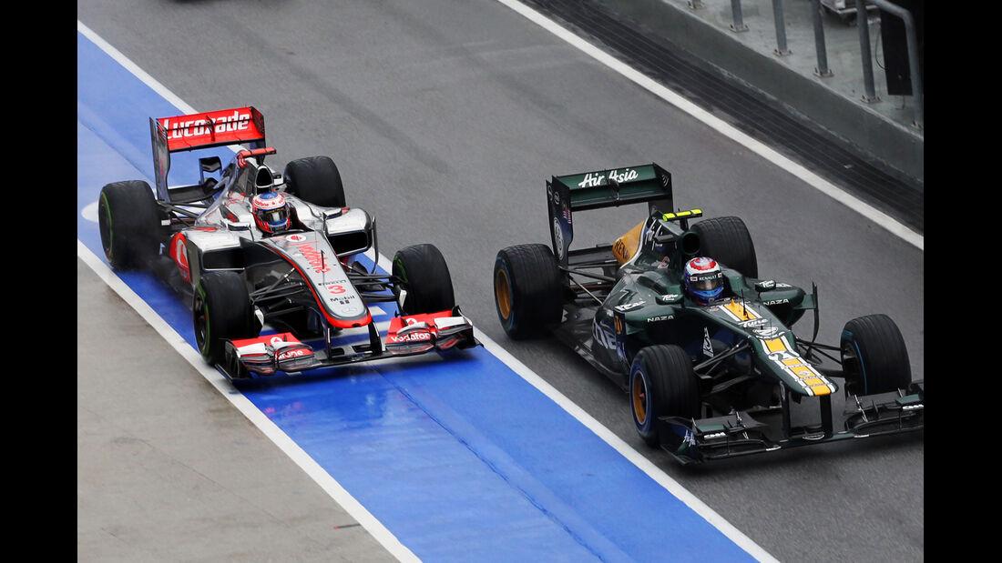 Jenson Button GP Malaysia 2012