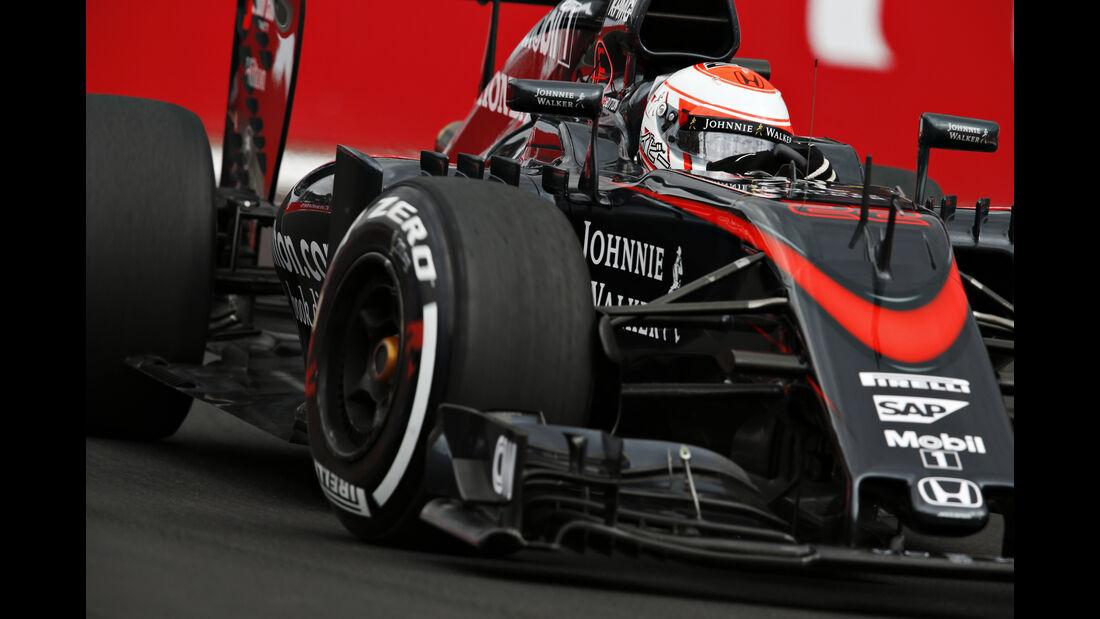 Jenson Button - GP Mexiko 2015