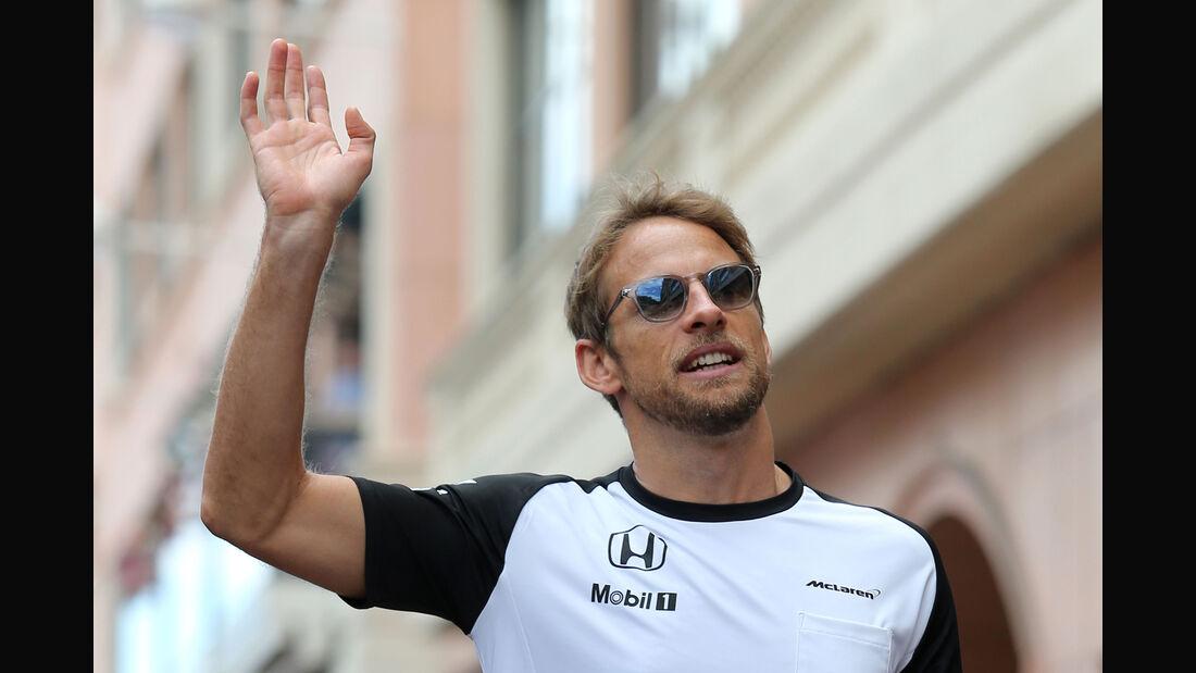Jenson Button - GP Monaco 2015
