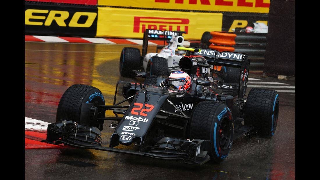 Jenson Button - GP Monaco 2016